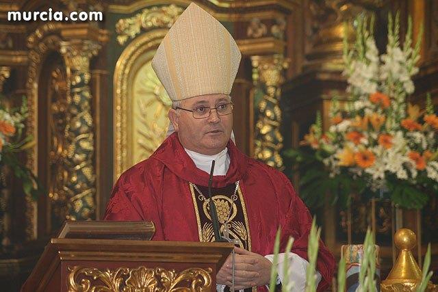El obispo de la di�cesis de Cartagena Jos� Manuel Lorca Planes felicita la Navidad, Foto 2