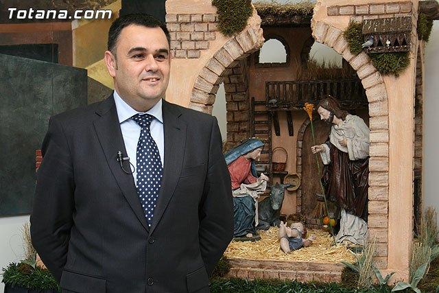 El alcalde felicita las fiestas de Navidad a todos los vecinos de Totana, Foto 1