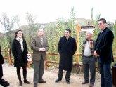 Pedro Alberto Cruz inaugura el nuevo Sendero Ecoturístico del Valle de Ricote