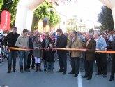 Más de trescientas personas participan en las carreras ciclistas Bicihuerta y la marcha 'Murcia Solidaria Pedalea'