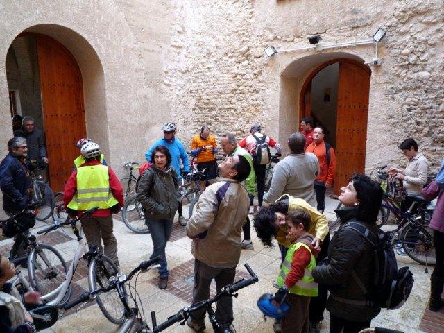 La Asociación  'Murcia en bici' visita Alguazas - 1, Foto 1