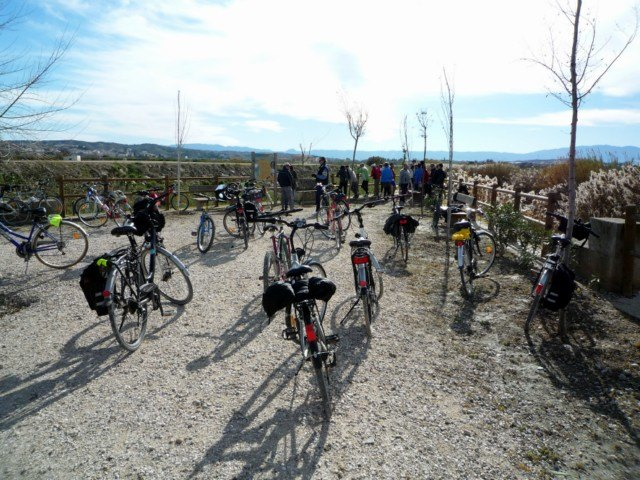 La Asociación  'Murcia en bici' visita Alguazas - 2, Foto 2