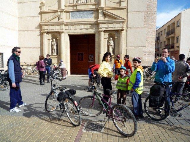 La Asociación  'Murcia en bici' visita Alguazas - 3, Foto 3