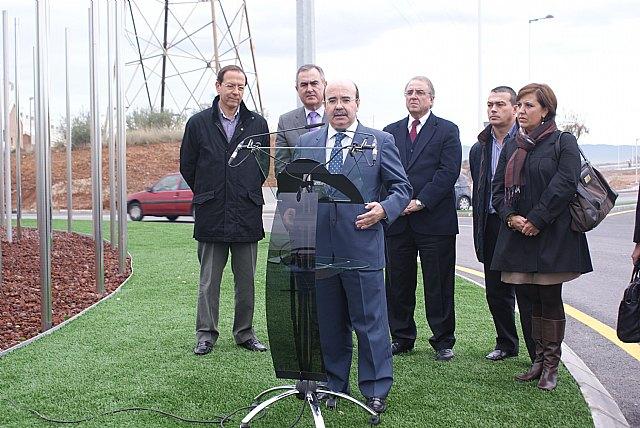 Gaspar Zarrías, González Tovar y Cámara visitan las obras del Fondo Estatal en la zona norte del municipio de Murcia - 2, Foto 2