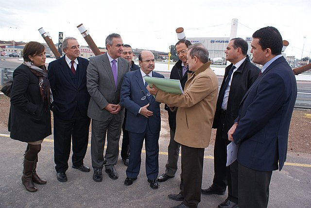 Gaspar Zarrías, González Tovar y Cámara visitan las obras del Fondo Estatal en la zona norte del municipio de Murcia - 3, Foto 3
