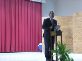 El delegado del Gobierno y el Alcalde de Ricote inauguran el nuevo Auditorio Municipal