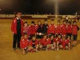 El Real Murcia gana el Torneo de Navidad de futbol organizado por el C.D. El Algar