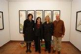 La artista lumbrerense Teresa Navarro expone su obra 'Nada es verdad...' en el Palacio Guevara de Lorca
