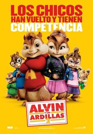 La concejalía de Cultura continúa con la programación del cine durante este fin de semana con la película Alvin y las ardillas 2, Foto 1