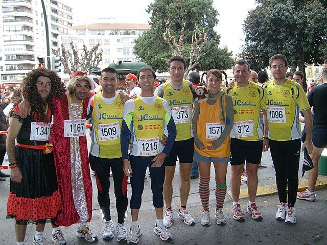 Los atletas del Club Atletismo Totana presentes en las San Silvestres de Vallecas, Vicalvaro, Murcia y Crevillente, Foto 1