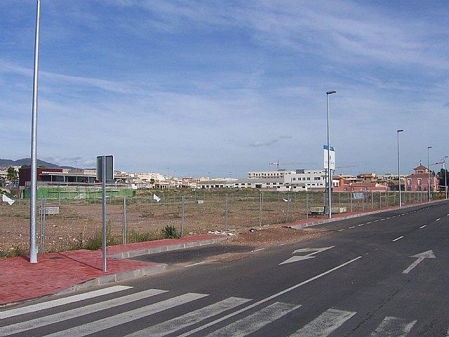 Comienzan las obras de construcci�n del nuevo Centro de Salud Totana-Sur, por un importe superior a los dos millones de euros, Foto 3