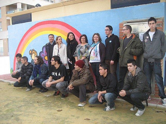Fallados los premios del concurso municipal de graffiti al que se han presentado 65 obras de 28 autores - 2, Foto 2