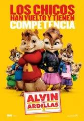 La concejalía de Cultura continúa con la programación del cine durante este fin de semana con la película 'Alvin y las ardillas 2'