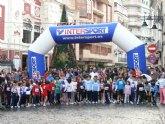 La lluvia respetó la III Carrera Popular Navideña en la que tomaron parte cerca de 500 corredores
