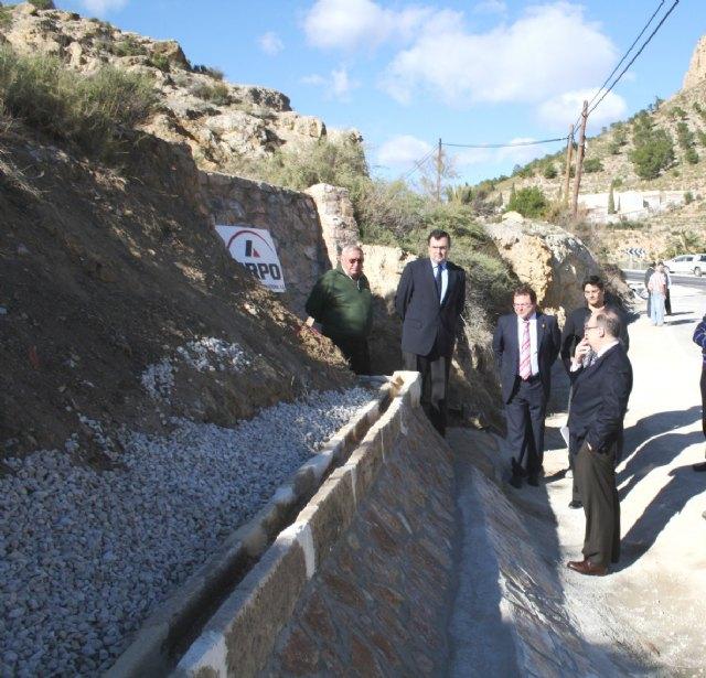 La Comunidad elimina un tramo de concentración de accidentes en el Valle de Ricote - 2, Foto 2