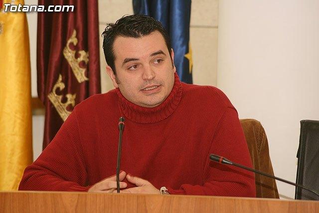 Bartolomé Pallarés, concejal de Hacienda / Totana.com, Foto 1