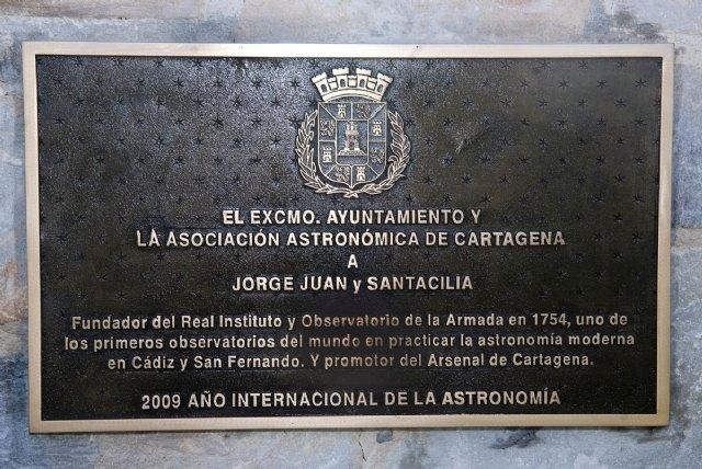 Se ha descubierto una placa en honor a Jorge Juan con motivo del Año Astronómico - 4, Foto 4