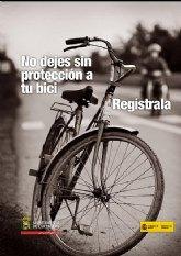 El Ayuntamiento reactiva el Registro Municipal de Bicicletas