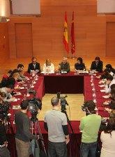 Valcárcel reitera que 'no cederá ni un ápice' en la oposición al cierre de trasvase