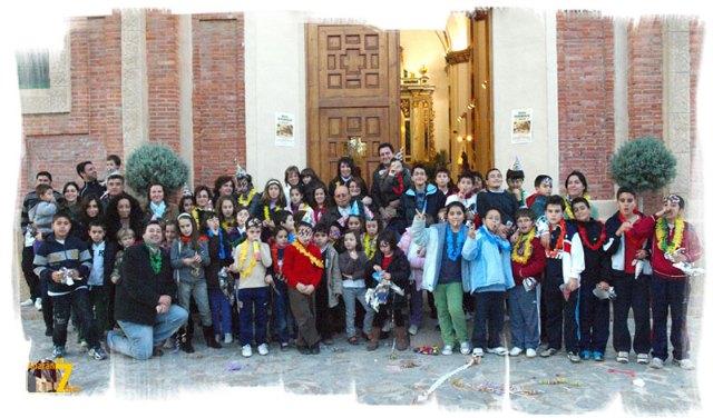 Los más pequeños fueron los primeros en recibir el 2010 al ritmo de las 12 campanadas - 1, Foto 1