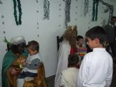 Los más pequeños de Blanca reciben a los Reyes Magos