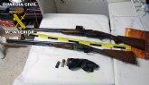 La Guardia Civil sorprende a dos personas con numerosos efectos procedentes de robos