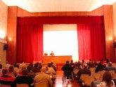 El concejal de Participación Ciudadana presenta la página web de este departamento municipal en el Consejo Municipal de Participación Ciudadana