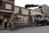 El Ayuntamiento instala cinco nuevos módulos de contenedores soterrados en diferentes puntos del municipio