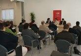 La Junta Directiva de AJE Guadalentín se reúne en Puerto Lumbreras