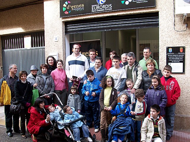 Fran Murcia visited the headquarters of D'Genes