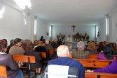 Los vecinos de Las Pullas celebran una misa en honor a San Antón