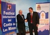Hermanamiento entre el Cante de las Minas y Caravaca Jubilar 2010