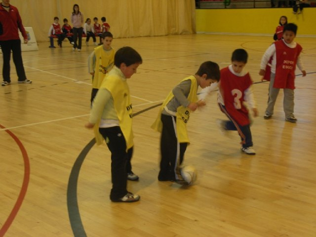 The Department of Sports organized a day of multisport prebenjamin, part of the School Sports Programme