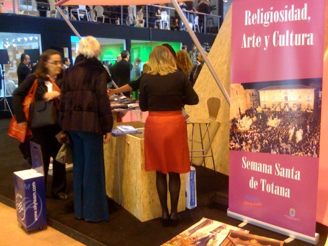 Totana shows the world the color and splendor of the Holy Week at the International Tourism Exhibition