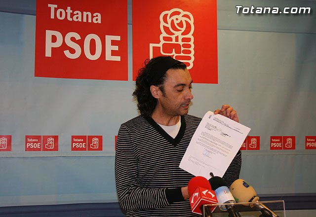"""PSOE: """"The PP will catastrazo retroactive to 4 years"""""""