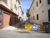 El Ayuntamiento ofrece aparcamiento gratuito a los vecinos afectados por las obras del centro de San Javier