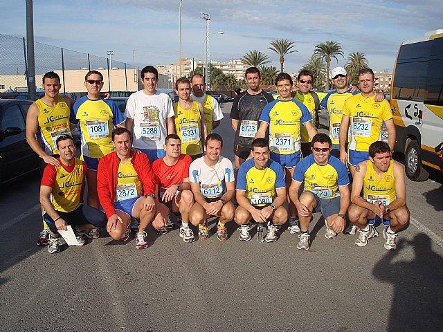 "Totana Athletic Club Athletes participated in the International Half Marathon ""Villa de Santa Pola"""