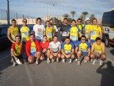 """Atletas del Club Atletismo Totana participaron en la Media Maratón Internacional """"Villa de Santa Pola"""""""