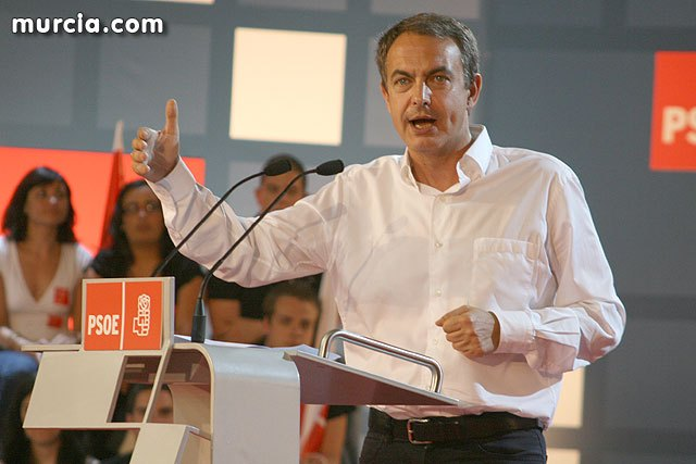 """PSOE: """"The EU Presidency Zapatero will promote greater protection for victims of gender violence and terrorism"""""""