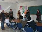 La concejal de Educación y el Servicio de Atención a la Diversidad de Murcia visitan el 'Aula Ocupacional'