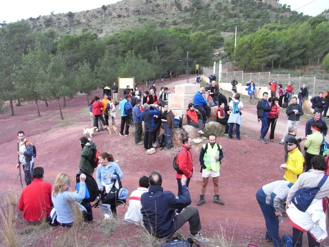 On Sunday 24 January, the club held its Totana hiker route endearing: the rise to Morron of Espuña