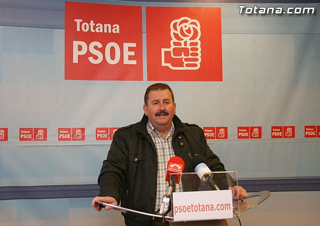 """García Cánovas, """"In the PSOE will continue to respect scrupulously the actions and decisions of justice"""""""