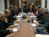 El delegado del Gobierno aprueba junto el alcalde de Molina de Segura el Plan Local de Seguridad del municipio