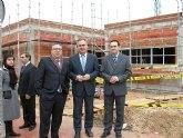 El delegado del Gobierno visita las obras del Centro de Día para personas mayores en La Molineta