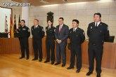 Toman posesión de sus cargos los cuatro nuevos cabos de la Policía Local de Totana