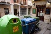 El Ayuntamiento retira contenedores de basura en las calles peatonalizadas