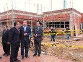 El Delegado del Gobierno y el Alcalde de Molina de Segura visitan las obras del Centro de Día para la Promoción de la Autonomía Personal