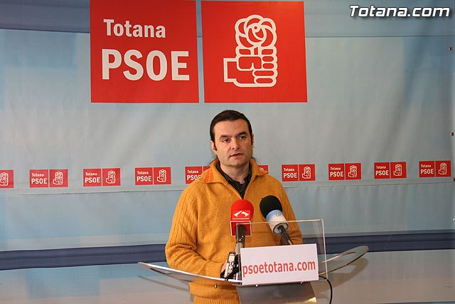 """José Gómez: """"The government just Zndreo Martinez has led to interesting proposals for plenary totaneros"""""""