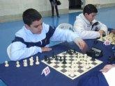 "Un total de ocho escolares de Totana participan en la primera jornada regional ""Open de ajedrez"" de Deporte Escolar"
