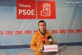 José Gómez: 'el gobierno de Martinez Zndreo apenas ha llevado al Pleno propuestas interesantes para los totaneros'